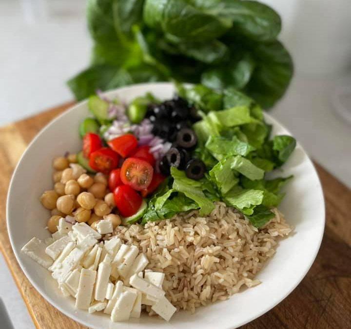 Greek Vegetarian Power Bowl